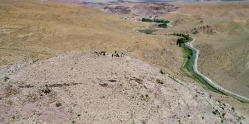 Vanda Urartulara ait yeni bir kale kalıntısı tespit edildi