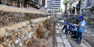İzmirde Osmanlı dönemine ait bedesten kalıntısı bulundu