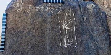 Babil Kralı Nabonidusun tasviri bulunan 2560 yıllık yazıt keşfedildi