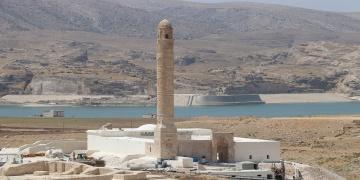 Hasankeyf Er-Rızk Camisinin restorasyonunda sona yaklaşıldı