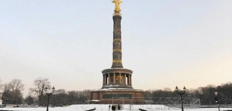 250 yıllık Berlin Zafer Sütunu'nun bakır çatısı çalındı