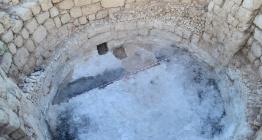 Aratosun anıt mezarı, kireç ocağı olarak kullanılmış