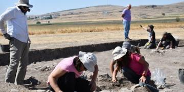 Domuztepe Höyüğünde 7 bin 500 yıllık yerleşim yeri bulundu