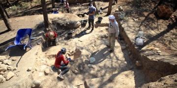 Yumuktepe Höyüğünde Bizans dönemine ait depo alanı bulundu