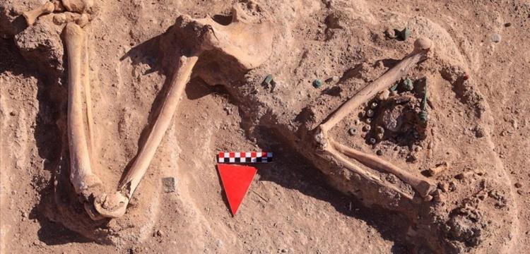 Çavuştepe Kalesi'nde başsız kadın yöneticinin mezarı bulundu