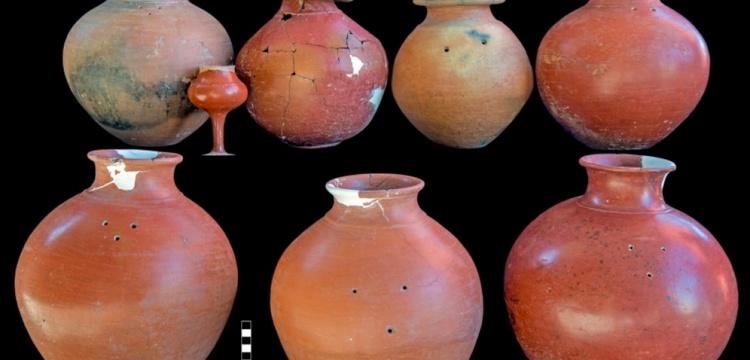 Çavuştepe Kalesi'nde 45 urne bulundu