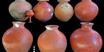 Çavuştepe Kalesinde 45 urne bulundu