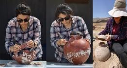 Çavuştepe kazılarında Urartulara ait 40 urne bulundu