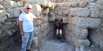 Aratosun anıt mezarı arkeolojik olarak kanıtlandı