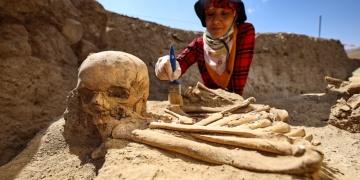 Çavuştepe Kalesinde yeni bir mezar tipi bulundu