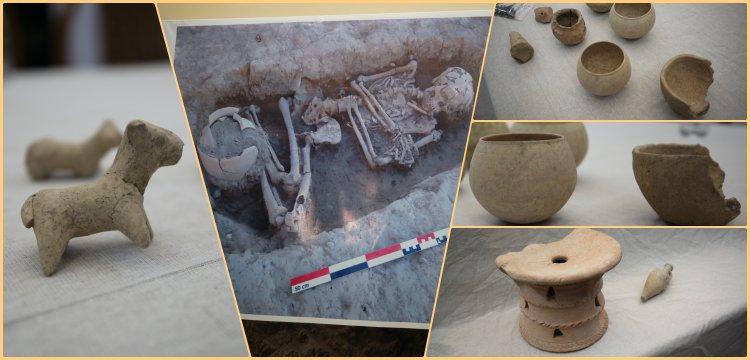 Irak'da Uruk stili 4300 yıllık seramik eserler bulundu