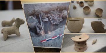 Irakda Uruk stili 4300 yıllık seramik eserler bulundu