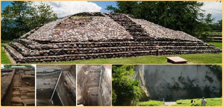 Mayaların Campana piramidini sığınak olarak inşa ettiği anlaşıldı