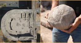 Diyarbakırın Urfakapısında kullanılan mancınık alanı keşfedildi