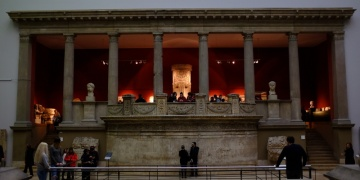 Magnesia antik kentindeki Zeus Tapınağının giriş kapısı bulundu