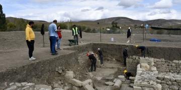 Satala Antik Kentindeki kazı çalışmaları