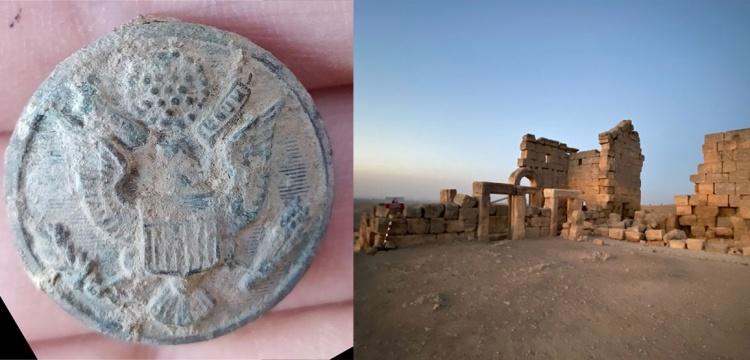 Zerzevan kalesi kazılarında 'Amerikan rozeti' bulundu