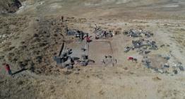 Adilcevazda bulunan Urartu kalesinde kazılar 50 yıl sonra yeniden başladı